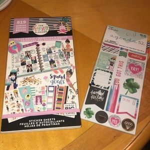 Happy Planner and Agenda 52 stickers